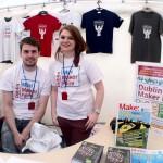 Dublin Mini Maker Faire Welcome booth_7732265058_l