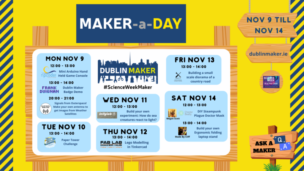 Maker-a-Day All Events