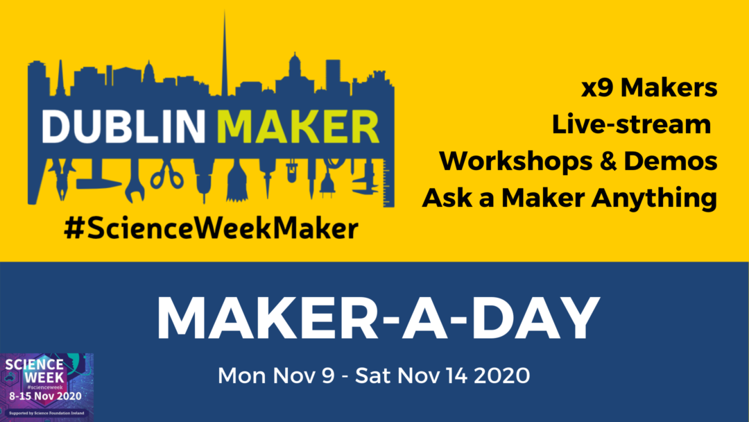 Maker-a-Day Blog Post Banner