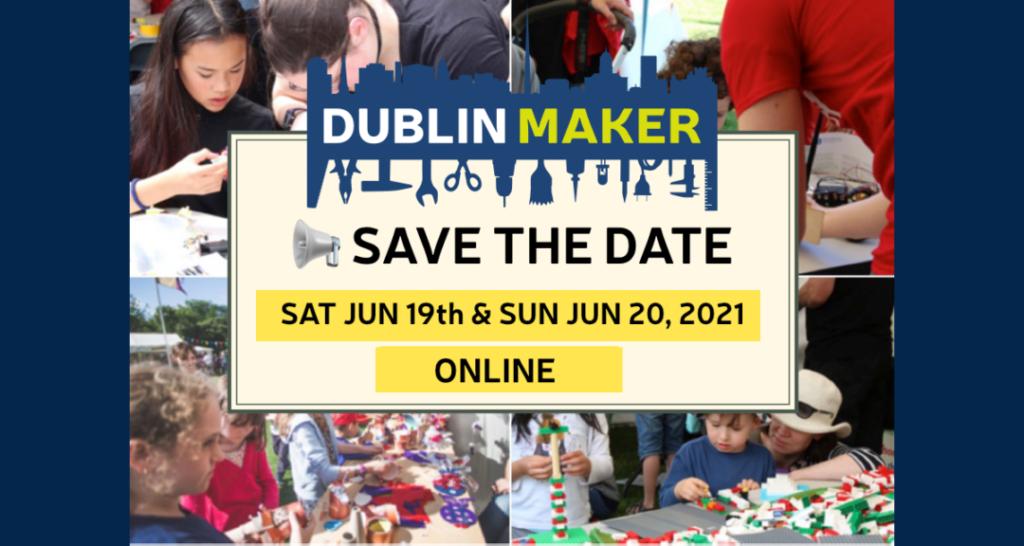 Dublin Maker Save the Date banner